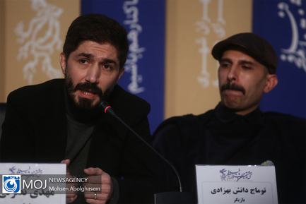 نشست خبری فیلم «لباس شخصی» به کارگردانی امیر عباس ربیعی