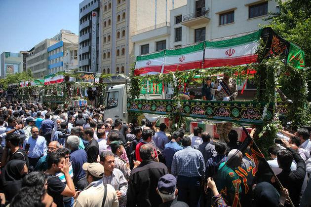 لغو محدودیتهای ترافیکی مراسم تشییع شهدای تهران