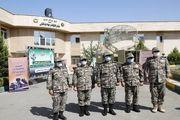 امیر صباحی فرد از پروژههای در حال ساخت نیروی پدافند هوایی ارتش بازدید کرد