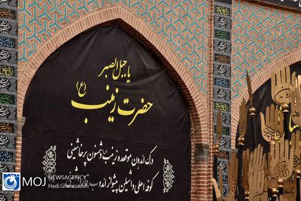 آماده سازی شهر اردبیل برای عزاداری ماه محرم
