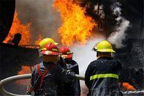 جزئیات آتش سوزی در کارگاه تولید لوازم کفاشی سپهسالار
