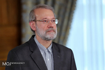 رئیس مجلس شورای اسلامی از حداد عادل عیادت کرد