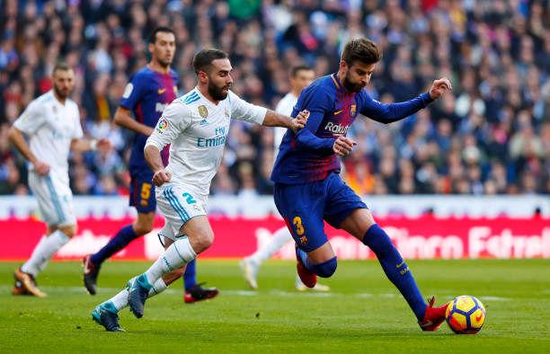نتیجه بازی بارسلونا و رئال مادرید/ بارسلونا شکست ناپذیری خود را در لالیگا حفظ کرد