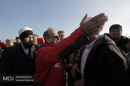 امداد رسانی هلال احمر به مناطق سیل زده استان گلستان