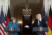 مکالمه تهاجمی دونالد ترامپ با آنگلا مرکل