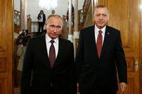 اوضاع سوریه محور گفتگوی پوتین و اردوغان