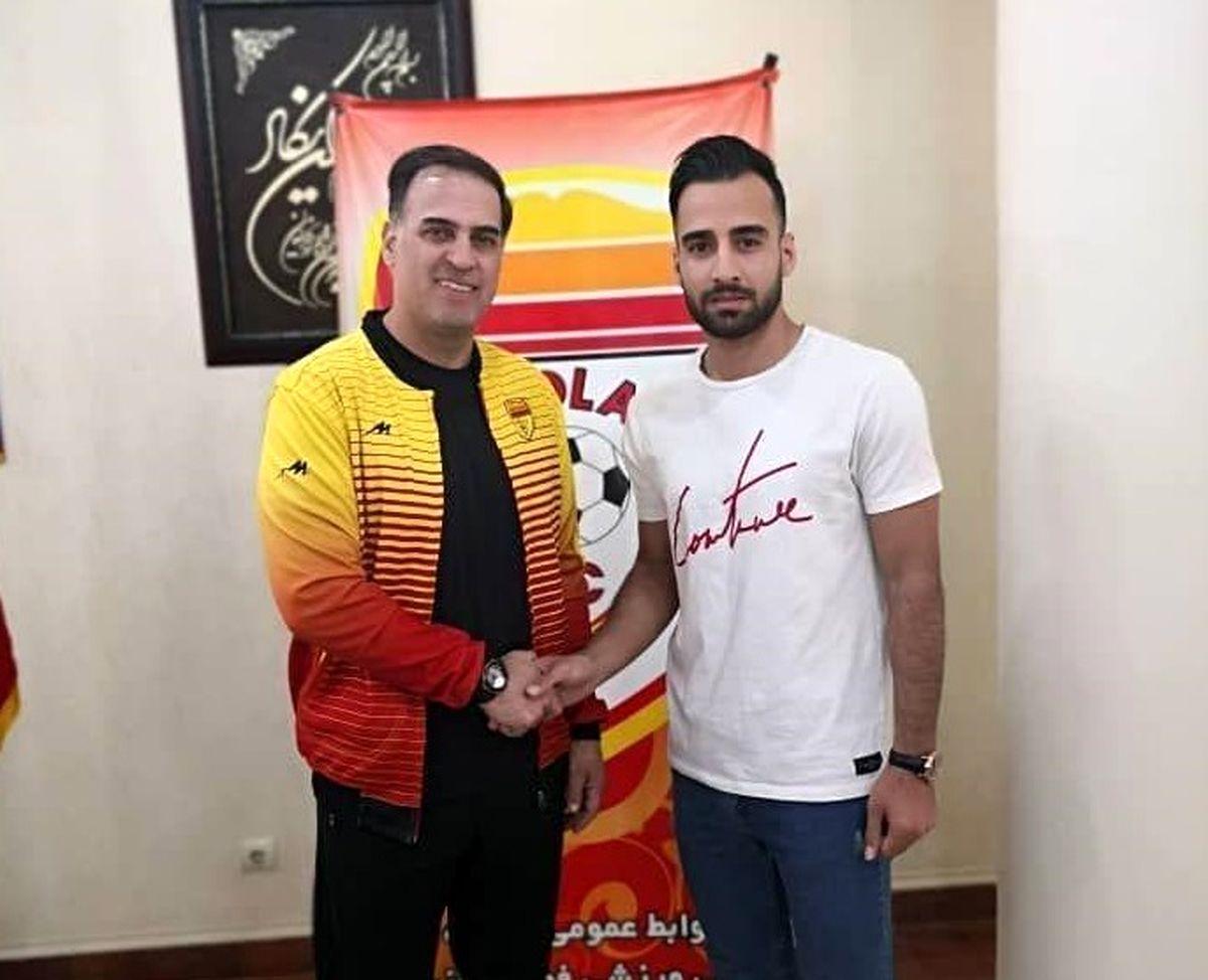 فوتبالیست هرمزگانی به فولاد خوزستان پیوست