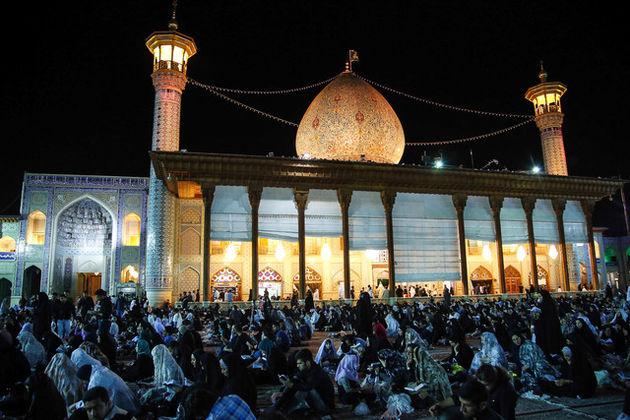 مراسم احیای شب بیستوسوم در ۱۵۰۰ امامزاده و بقعه متبرکه