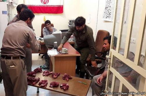شکارچی سابقهدار در سفیدکوه خرمآباد دستگیر شد