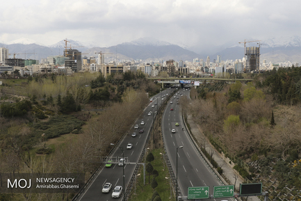 نوروز در بوستان آب و آتش تهران