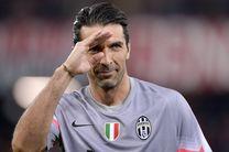 بوفون از فوتبال ملی خداحافظی کرد/ ایتالیا به روسیه نرسید