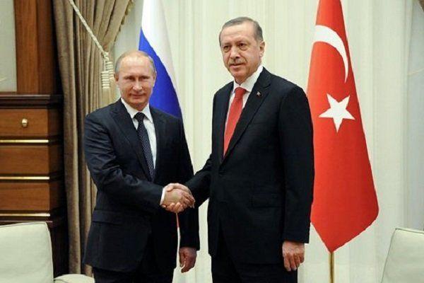 پوتین و اردوغان با یکدیگر دیدار کردند