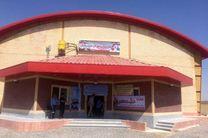 سالن ستارگان جاوید والیبال در روستای صحنه آق قلا افتتاح شد