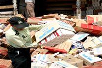 کشف محموله ۸ میلیاردی سیگار قاچاق در کرمانشاه
