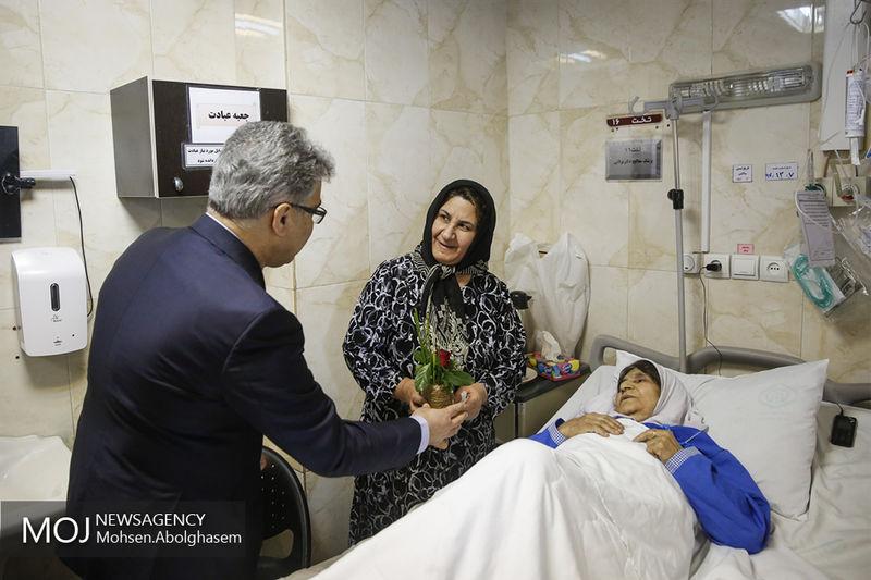 فعالیت شبانه روزی بیمارستان ضیایی اردکان در ایام عید