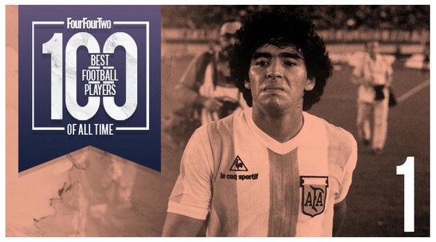 مارادونا برترین بازیکن تاریخ فوتبال جهان شد