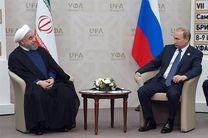 گفتوگوی پوتین با روحانی درباره پروژههای انرژی