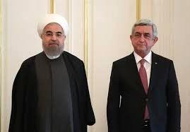 دیدار روسای جمهور ایران و ارمنستان