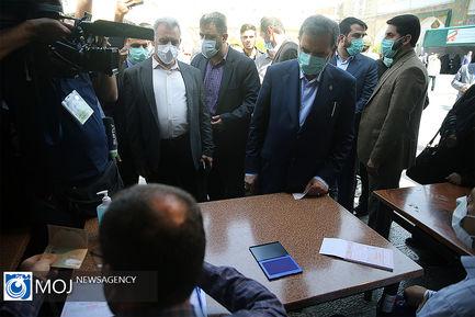 حضور اعضای مجمع تشخیص مصلحت نظام در انتخابات ۱۴۰۰