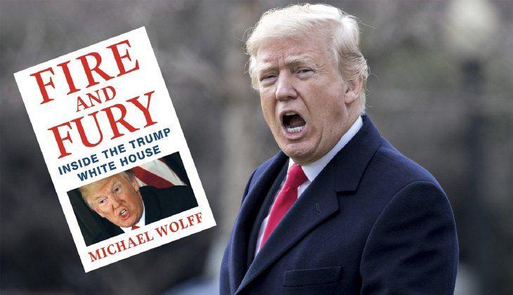 کتاب آتش و خشم وضعیت واقعی ترامپ را نشان می دهد