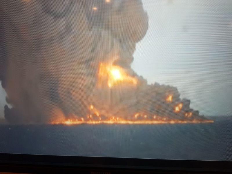 نفتکش عربستان  هدف حمله یمنی ها قرار گرفت