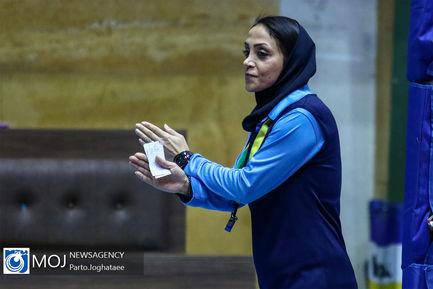 دیدار تیم های والیبال بانوان سایپا و اکسون تهران