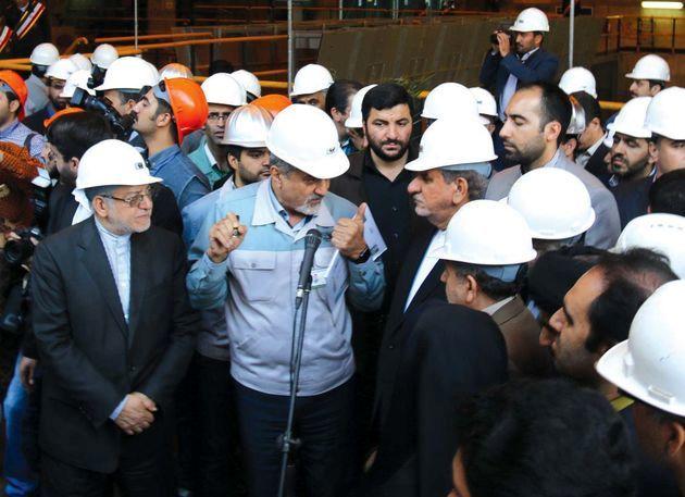 توسعه شرکت فولاد مبارکه ثمره خود باوری و تلاش پولاد مردان ایران اسلامی است