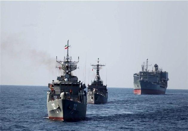 ناوهای ایرانی و پاکستانی در دریای عمان تمرین مشترک برگزار کردند