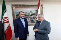 رایزنی وزیران امور خارجه ایران و لبنان در بیروت
